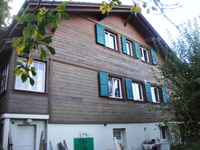 Chaletumbau in Berrn AAB Atelier für Architektur und Bauökologie | Bern | Schweiz