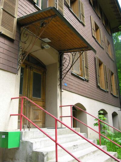 Zugang AAB Atelier für Architektur und Bauökologie | Bern | Schweiz