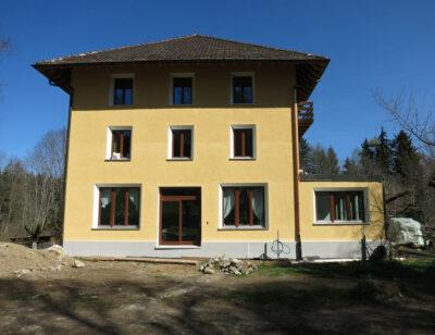 Westfassade AAB Atelier für Architektur und Bauökologie | Bern | Schweiz
