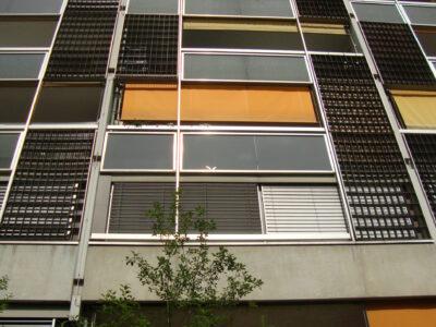 Hochhausfassade AAB Atelier für Architektur und Bauökologie | Bern | Schweiz