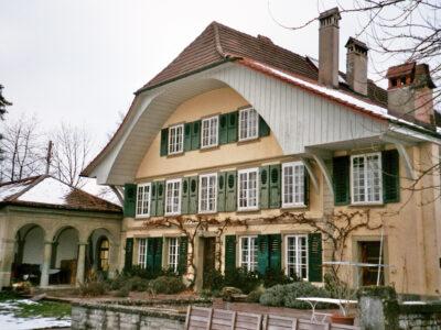 Südfassade mit Peristil AAB Atelier für Architektur und Bauökologie | Bern | Schweiz