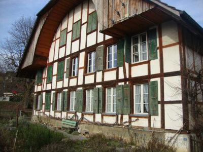 Strassenfassade AAB Atelier für Architektur und Bauökologie | Bern | Schweiz
