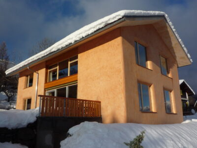 Sonnenkollektoren in Montana AAB Atelier für Architektur und Bauökologie | Bern | Schweiz