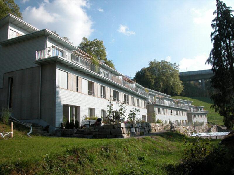 Terrassierte Splitwohnungen AAB Atelier für Architektur und Bauökologie | Bern | Schweiz