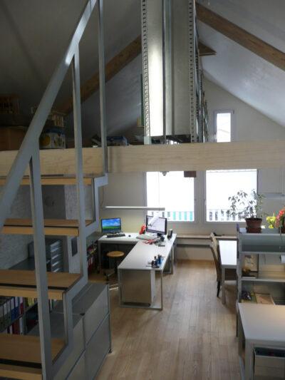 Büro mit Galerie AAB Atelier für Architektur und Bauökologie | Bern | Schweiz