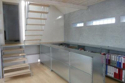 grauer und weisser Lehmputz AAB Atelier für Architektur und Bauökologie | Bern | Schweiz