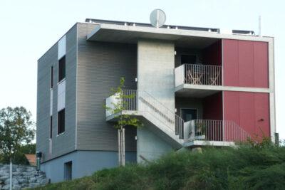 Vorangestellte Erschliessung AAB Atelier für Architektur und Bauökologie   Bern   Schweiz