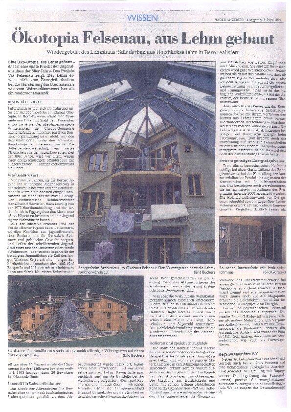 AAB Atelier Oekotopia Felsenau AAB Atelier für Architektur und Bauökologie | Bern | Schweiz